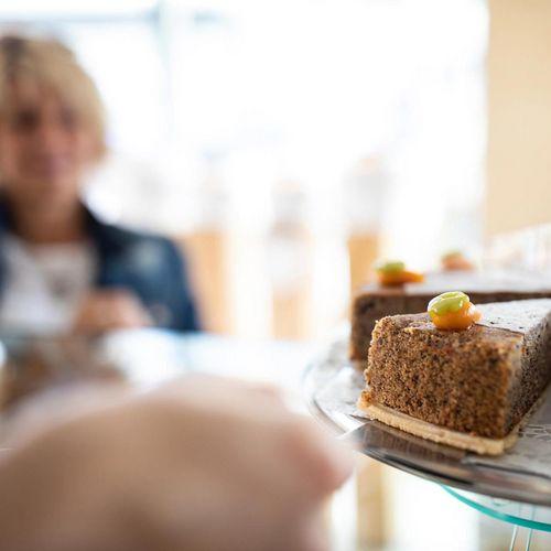 Das Herzstück unseres cafés in Oetz: hausgemachte Kuchen